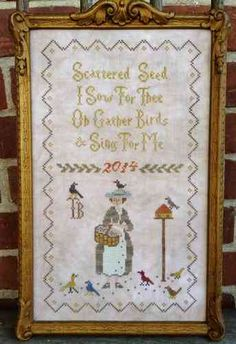 Scattered Seed Samplers - Mary Mustardseed