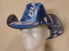 Beer Box Cowboy Hats Made from recycled beer by BestBeerHats, $29.99
