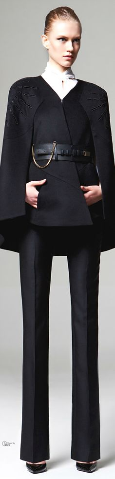 Zuhair Murad ● FW 2014-15, tailored women's suit #mizustyle