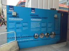 Event Signage, Liverpool Street, Art Pieces, Boss, London, Design, Artworks, Art Work