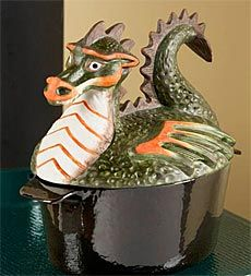 colorful-handpainted-dragon-wood-stove-steamer