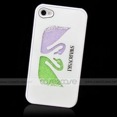 Keep your iPhone 4 iphone 4s safe and trendy in this Swarovski Diamond case for iphone 4/ 4s! It features and embellished with colorful Swarovski crystals, and makes a great gift.