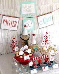 Christmas Gender Reveal Theme.Pinterest