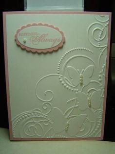 I LOVE this embossing folder!
