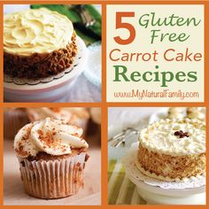 I found 10 of the best gluten-free carrot cake recipes and thought I would share them with you because recently my mom (and my brother and sister-in-law) have gone gluten-free with their diet. Gluten Free Carrot Cake, Gluten Free Deserts, Gluten Free Sweets, Gluten Free Cakes, Foods With Gluten, Gluten Free Cooking, Sans Gluten, Gluten Free Recipes, Carrot Cakes