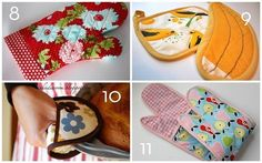 Roundup:12 DIY Pot Holder and Hot Pad Projects
