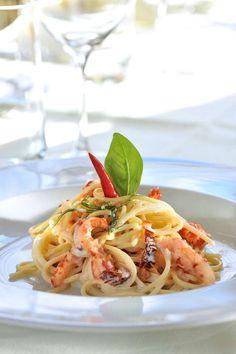 Rezept von Jacques Neher, Restaurant Löwen, Tübach SG Pasta, Gnocchi Recipes, Restaurant, Ethnic Recipes, Plating, Cooking, Stuffed Pasta, Fish Dishes, Pasta Meals