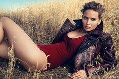 """""""I have a quickie relationship with fashion,"""" says actress Jennifer Lawrence, laughing. """"I wear a dress for one night on the red carpet, and that's it."""" Fashion, though, can only imagine a long-term future with the star of the cultish The Hunger Games, which catapulted the girl from Louisville into the realms of superstardom because of her turn as the creatively attired Katniss Everdeen. (Think Gaga . . . gone wild.) If designers are fixating on Lawrence, it's in no small part due to her…"""