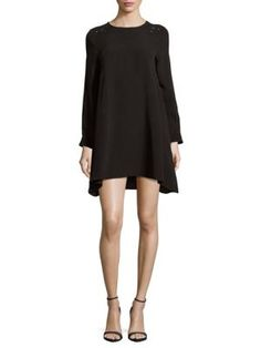 ZADIG & VOLTAIRE Rush Textured Shift Dress. #zadigvoltaire #cloth #dress
