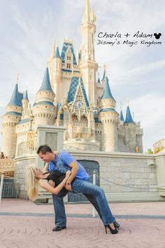 Since a Disney Wedding is out of the question.) coordinator: At Last, wedding + event design photo: Loves Meets Life Disney Engagement Pictures, Engagement Couple, Wedding Pictures, Engagement Session, Disney World Wedding, Disney Bride, Disney Weddings, Disney Couples, Proposal Photography
