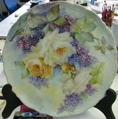 Roses and Lilacs a Journey | ARTchat - Porcelain Art Plus (formerly Chatty Teachers & Artists)