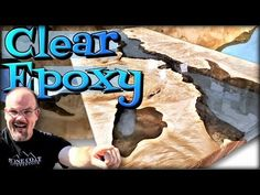 Transparent River Table with Epoxy, is a step by step video showing how to build a river table with casting epoxy. Learn how to keep the epoxy transparent, l. Stone Coat Countertop, Epoxy Countertop, Painting Countertops, Countertop Materials, Resin Furniture, Woodworking Furniture, Furniture Ideas, Epoxy Wood Table, Epoxy Floor