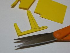 Mini Staple Sailplane : 12 Steps (with Pictures) - Instructables Paper Airplanes Instructions, Origami Paper Plane, Easy Paper Crafts, Fun At Work, Crafts For Kids, Projects To Try, Miniatures, Pictures, Toys