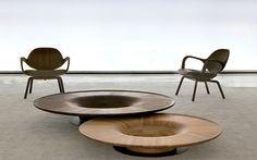 Design brasileiro - Jader Almeida apresenta Cadeira Clad e mesa de centro Twist