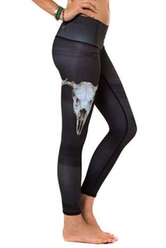 The Teeki Deer Medicine Hot Hot Pants Yoga Leggings are aDOEable!