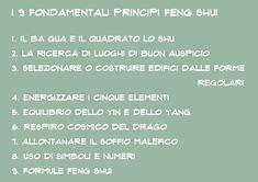 FENG SHUI - Introduzione 1°parte - Il Pampano - interior | lifestyle | kids