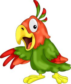 Pin By Adriana Barbu On Png Clip Art Parrot Cartoon Art Images