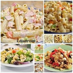 Μακαρονοσαλάτες - Η ΔΙΑΔΡΟΜΗ ® Cookbook Recipes, Pasta Recipes, Cooking Recipes, Healthy Recipes, Cooking Ideas, The Kitchen Food Network, Dips, Bacon Pasta, Happy Foods