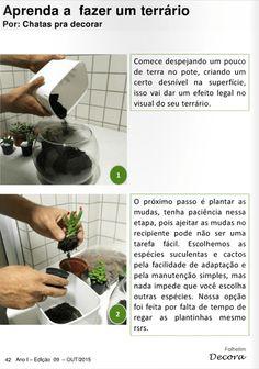 Chatas pra Decorar no Folhetim Decora! | chataspradecorar.com.br