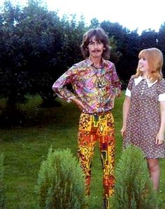 Acid house: George and Patti Harrison's psychedelic crash pad | Dangerous Minds