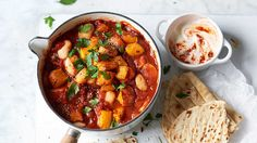 Image: Spicy squash and butterbean stew
