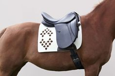Manifattura Valor | Wolkenstein Absolutely STUNNING custom saddle pads made from wool felt.