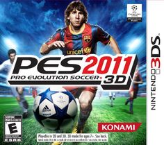 Pro Evolution Soccer 2011 3D  Nintendo 3DS -- Visit the image link more details. Note:It is affiliate link to Amazon.