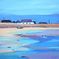 Pam Carter. Blackhouses on the Bay.