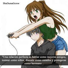 una relación perfecta #Anime #Frases_anime #frases