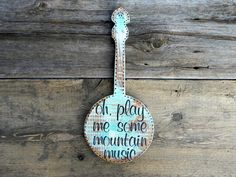 Banjo Sign and Wall Decor, Country Western Home Decor, Musical Signs, Banjo Decor, Bluegrass Decor, Music Decor, Banjo Gifts, Banjo Wall Art by CrowBarDsigns on Etsy https://www.etsy.com/listing/222567951/banjo-sign-and-wall-decor-country