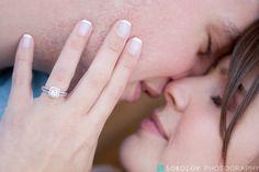 Engagement ring photos. Summer engagement