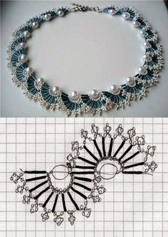 67 Best ideas for diy jewelry tutorials necklace beautiful Bead Crafts, Jewelry Crafts, Handmade Jewelry, Jewelry Ideas, Diy Crafts, Jewelry Accessories, Handmade Wire, Seed Bead Jewelry, Bead Jewellery