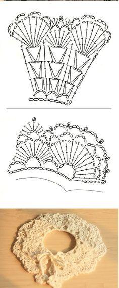 crochet collar pattern free (9)