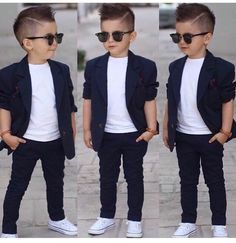 Best 21 little boy haircuts - new hairstyle for boys - Boy hairstyles - Young Boys Fashion, Toddler Boy Fashion, Little Boy Fashion, Toddler Boy Outfits, Toddler Boy Wedding Outfit, Baby Boy Hairstyles, Toddler Boy Haircuts, Little Boy Haircuts, Haircuts For Boys