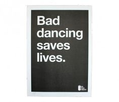 Bad Dancing Print / Mr. Four Fingers {hehe made me chuckle}