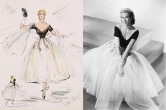 Edith Head and her long career as a top Hollywood costume designer in the golden era of Hollywood movies