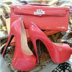 1b0615195025 Cool Show Red Patent Leather High Heel Shoes