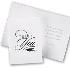 Unique Graduation Thank You Card Wording Samples And Ideas