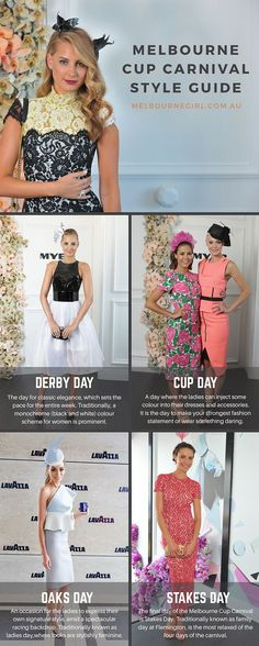 MELBOURNE CUP CARNIVAL - STYLE GUIDE