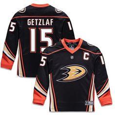 0a5a7745f7c Ryan Getzlaf Anaheim Ducks Fanatics Branded Youth Replica Player Jersey -  Black