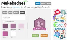 AYUDA PARA MAESTROS: Herramienta online para crear insignias, avatares ...