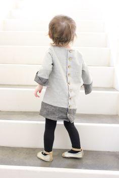 Winter Shift Dress + free sleeve pattern for 5 & 10 Designs dress pattern e-book!