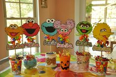 Sesame Street Party Birthday Party Ideas | Photo 1 of 24