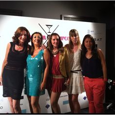 Evento Manhattan to Barcelona: El equipo de Nosotras_com y el equipo de Manhattan to Barcelona