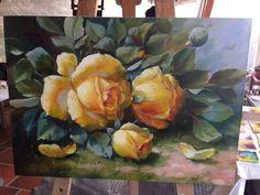 Rosas oleo