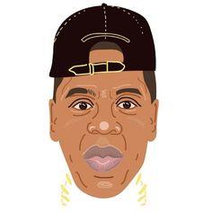 Jay-Z - alysha dawn illustration Jay Z, Dawn, Illustrator, My Favorite Things, Illustrators