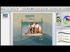 Digital Scrapbooking Tutorial - Creating a pop out effect
