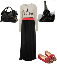 """""""From Paris with love :)"""" by simmonsjordan ❤ liked on Polyvore"""
