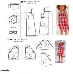 Toddler Sewing Patterns, Baby Dress Patterns, Baby Clothes Patterns, Kids Patterns, Sewing For Kids, Clothing Patterns, Moda Kids, Sewing Baby Clothes, Baby Sewing Projects