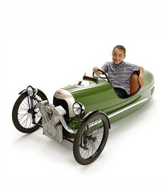 Morgan 3 wheel pedal car